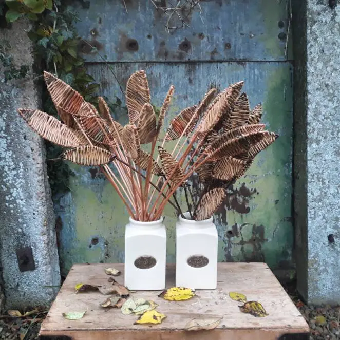15 Twig Weaving Sculptures That Were Created for the Love of Nature. Handicraft Has Not Become a Thing of the Past