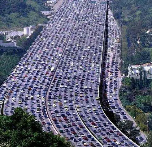 """Hate Traffic Jams? Here Are 15 Places Where """"Rush Hour"""" Takes on New Meaning"""