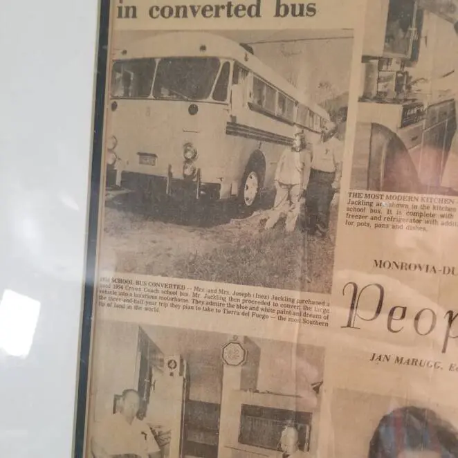 Grandson Refurbished His Grandparents' Old Travel Bus and Set off on a Tour in Their Footsteps