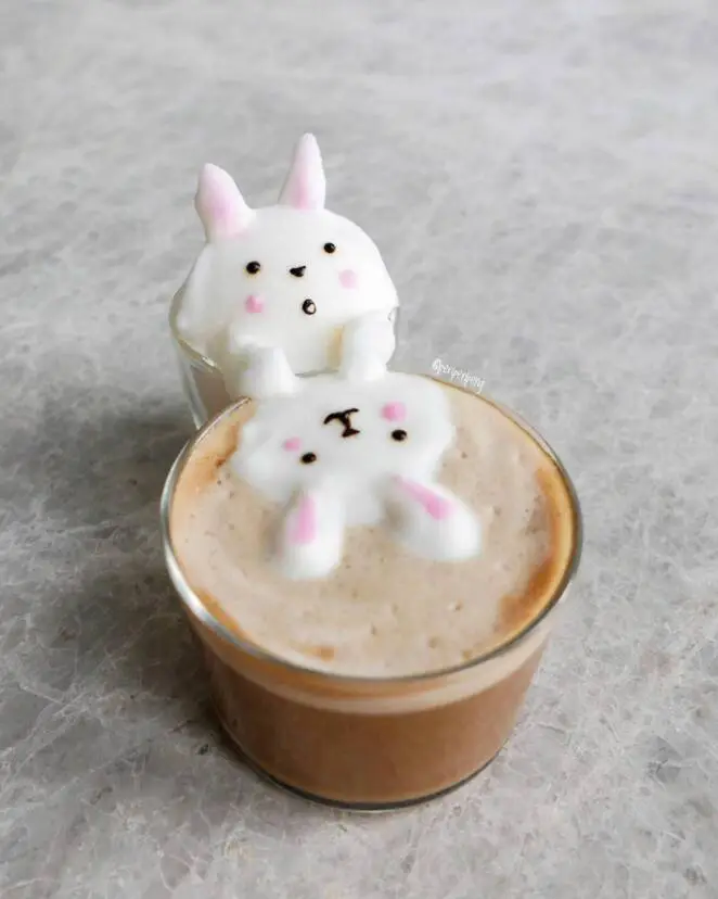 27 Amazing Foam Sculptures to Add Flavor to Your Favorite Beverages. True Works of Art