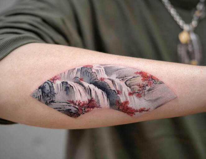 21 Colorful and Breathtaking Tattoos That Look Like Watercolor Paintings
