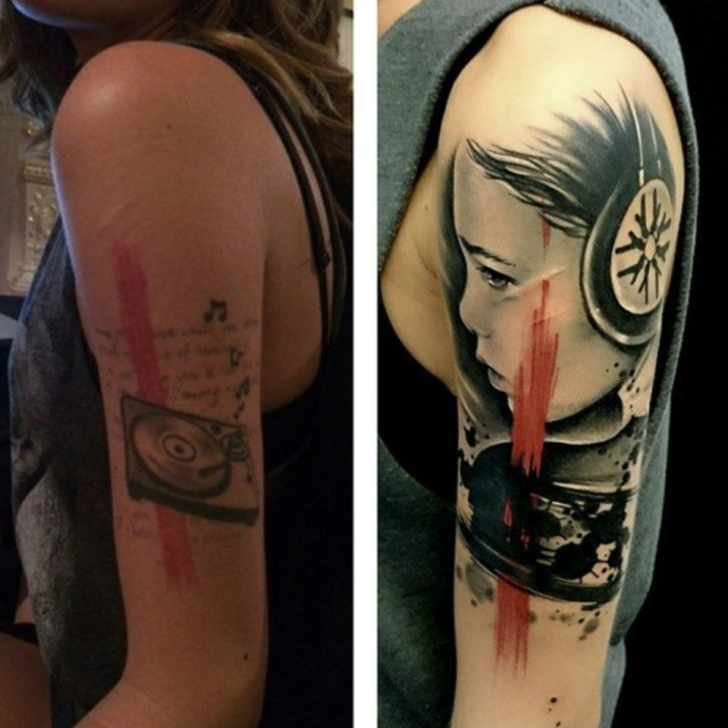 17 People Who Gave Their Tattoos a Second Chance and Didn't Regret Their Decision