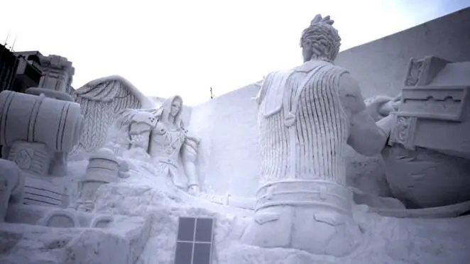 15 Phenomenal Snow Sculptures. Winter Works of Art That Can Be Made of all That White Goodness!