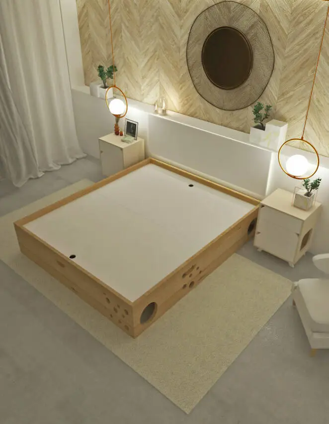 Cutting Edge Combined Beds For Cats. Now You Can Easily Share Your Bedroom With a Four-Legged Friend