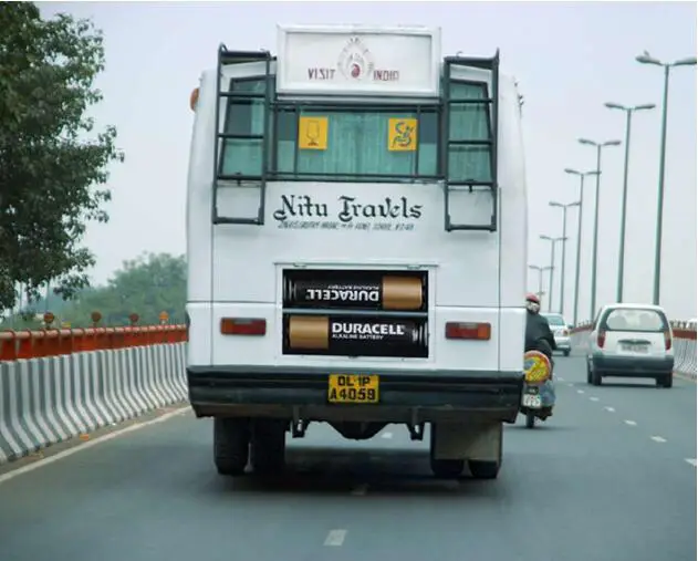 15 Original Ads on Buses. Their Designers Showed Exceptional Ingenuity