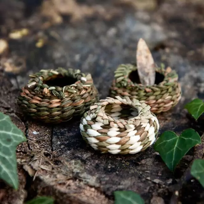 21 Tiny Objects Made from Forest Leaves. Beautiful Decorations for Every Home