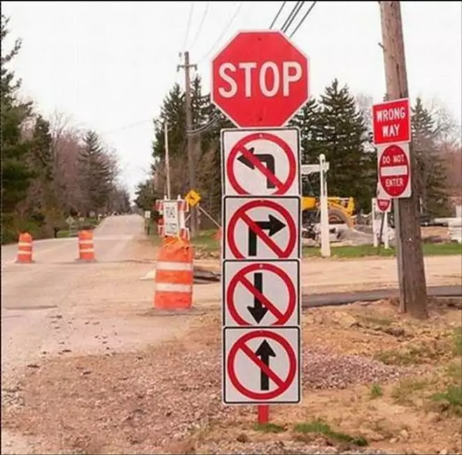 15 Unbelievably Weird, One-of-a-Kind Signs