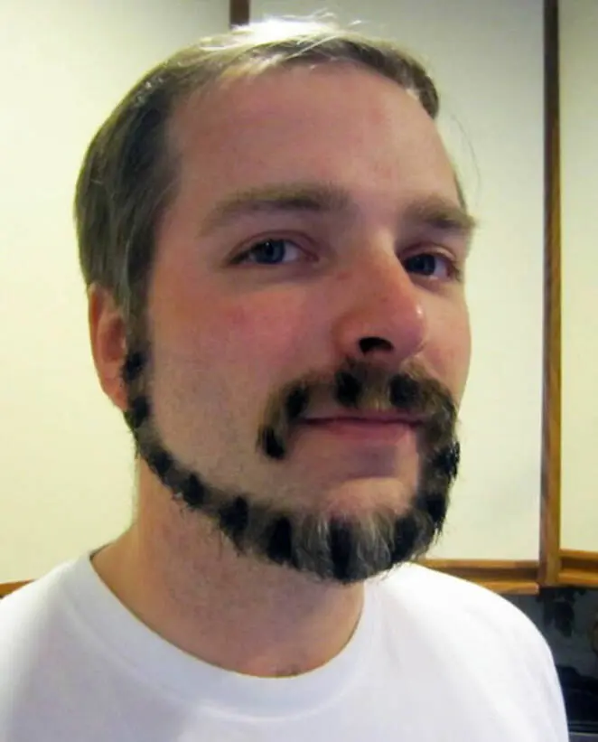 21 Men Who Trimmed Their Beards Into Monkey Tail Shapes. Fashionable Experiments With Facial Hair