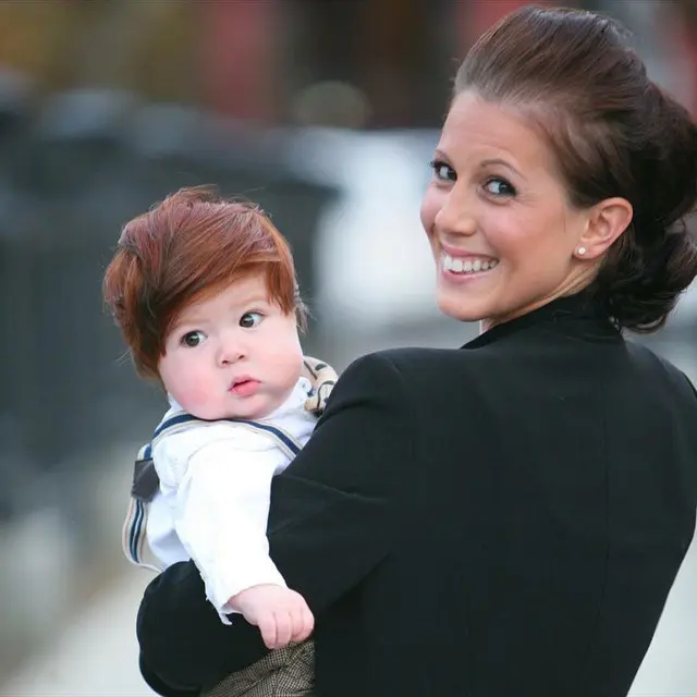 25 Adorable Toddlers Whit More Hair Than Most Adults. They Get Everyone's Attention!