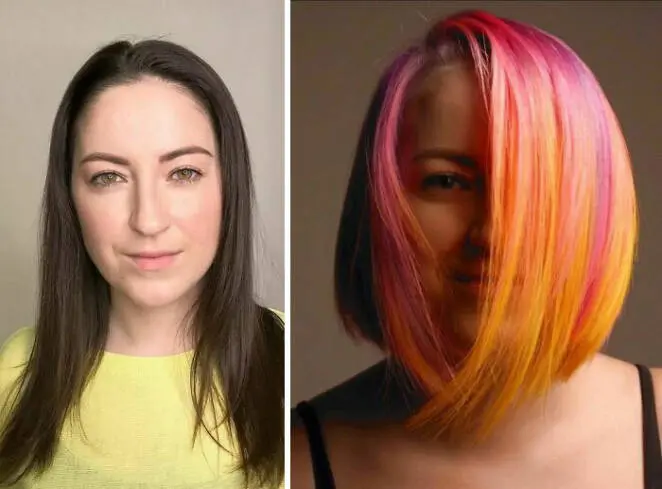 20 Best Extreme Hair Colors and Looks Resembling Birds of Paradise. These Are Brave Changes