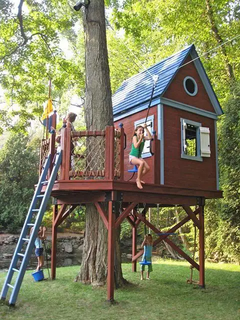 17 Great Treehouse Ideas. Every Kid Would Love Them