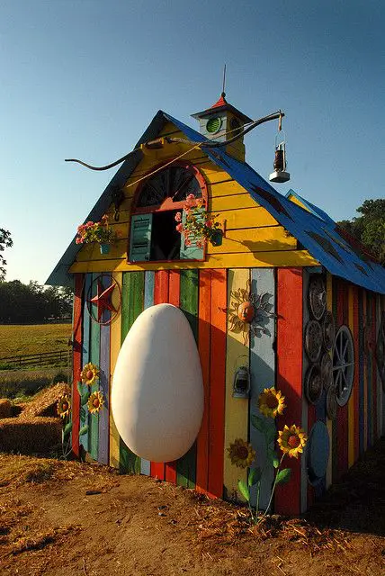 23 VIP Chicken Houses! You Can Truly Envy a These Henhouse Masterpieces