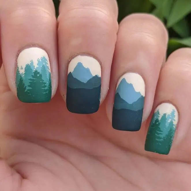 23 Women Whose Unusual Manicure Attracts So Much Attention. Funky Patterns and Colors