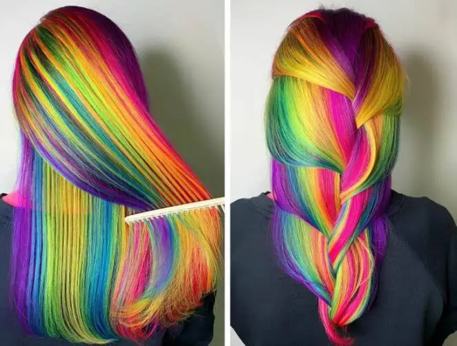 17 Fabulously Colorful Hairstyles to Make Any Woman Look Like a Bird of Paradise