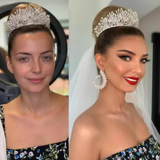 21 Striking Bridal Makeovers