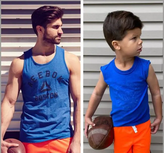 15 Photos of a Little Man That's Becoming Competition for His Older Uncle, a Professional Male Model!