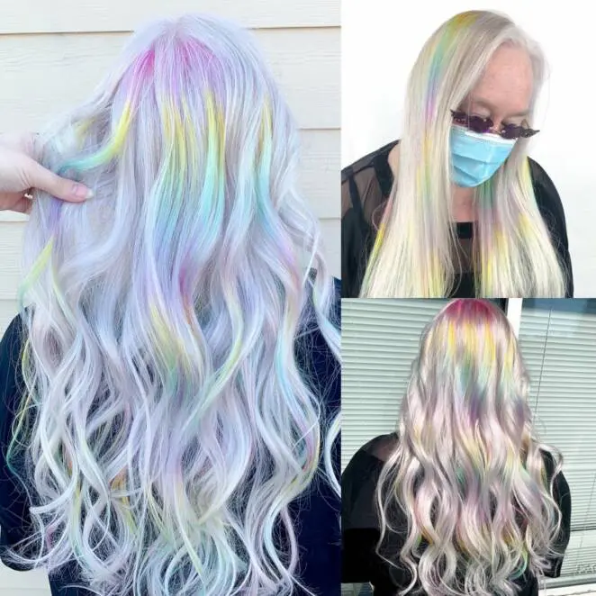 17 People Who Went Crazy With Their Hair Color and Length. They Are Not Afraid of Any Changes