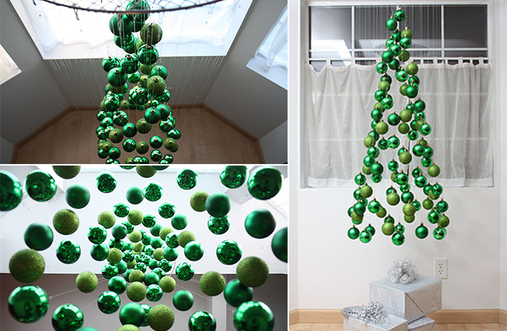How to make 15 creative diy christmas tree ideas Creative christmas decorations
