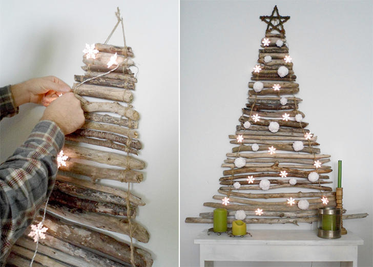 15 creative diy christmas tree ideas 06