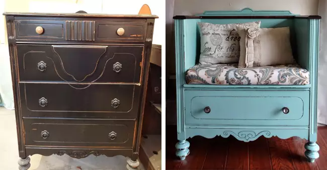 27 Techniques to Renovate Old Furniture, Surprising Inspirations