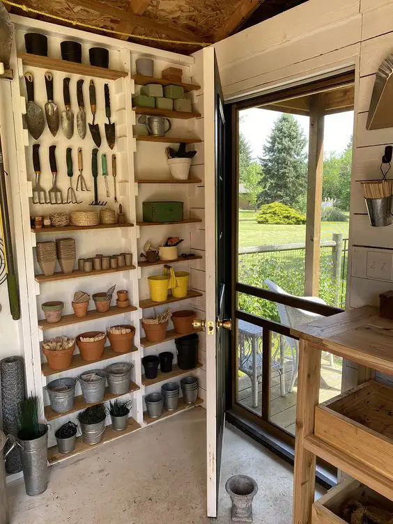 17 Stylish Garden Storage Ideas for Outdoor Space. Nifty Solutions
