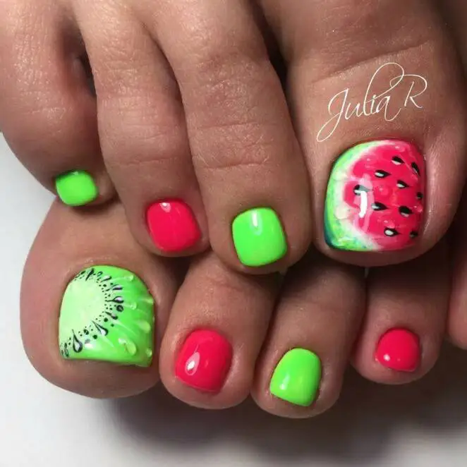 19 Vacation Pedicure Ideas. Colorful Designs Put Every Woman in the Holiday Mood