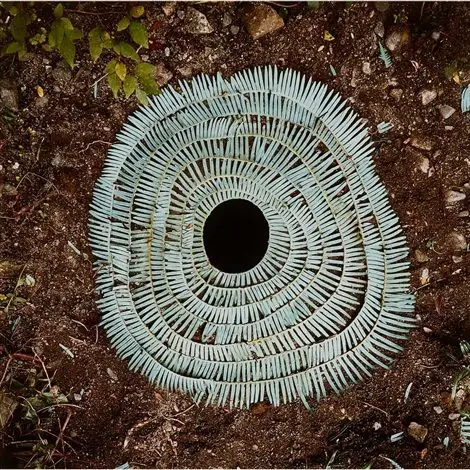 19  Forest Sculptures and Installations Made From Stones, Leaves and Sticks