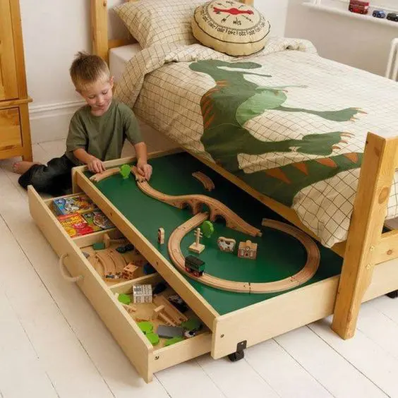 19 Patents for Keeping the Toys in Your Child's Room. Never Step on Scattered Lego Bricks Again