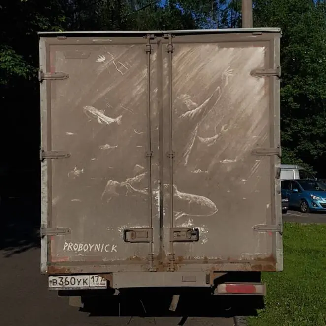 15 Pictures Created on… Dirty Trucks! It Is a Shame to Drive Them to the Car Wash