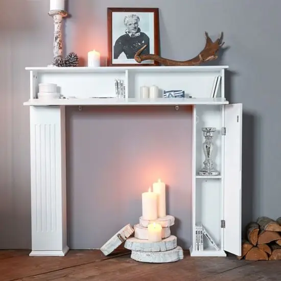 DIY Fireplace Replicas – That Fit in a Small Living Room!