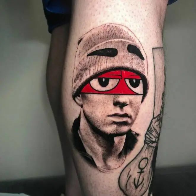 21 Totally Crazy and Colorful Tattoos That Cartoon and Movie Fans Will Love