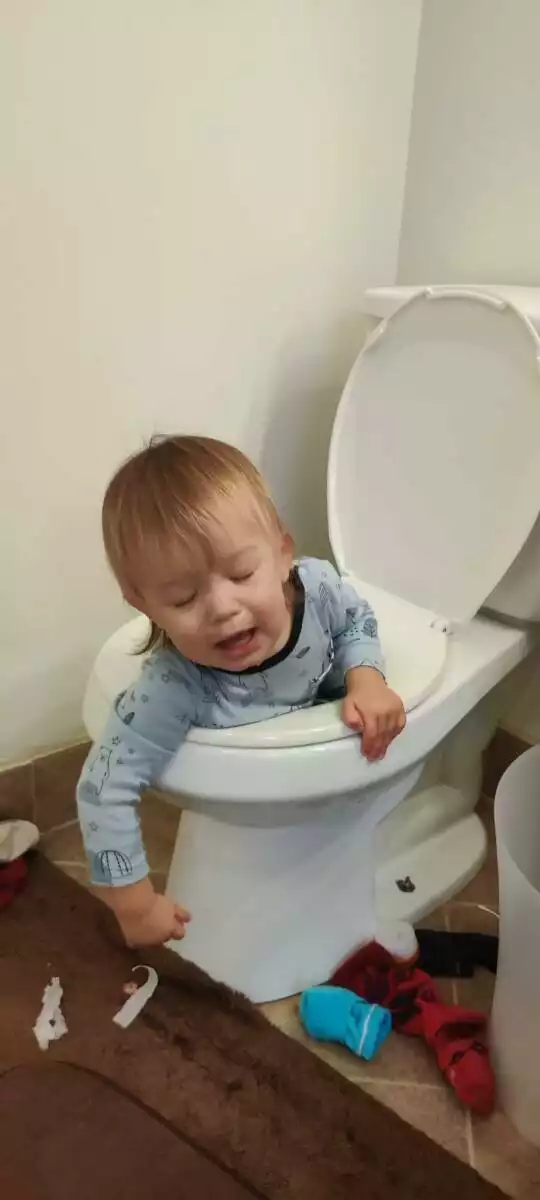 17 Situations Where a Kid Has Been Left Unattended for a few Seconds