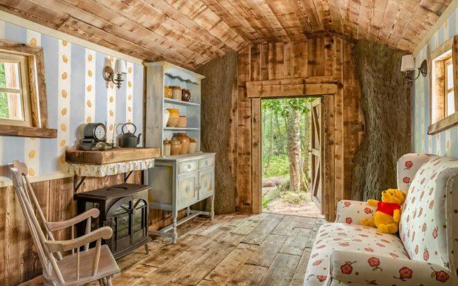 Weekend Break in Adorable Winnie the Pooh Cottage