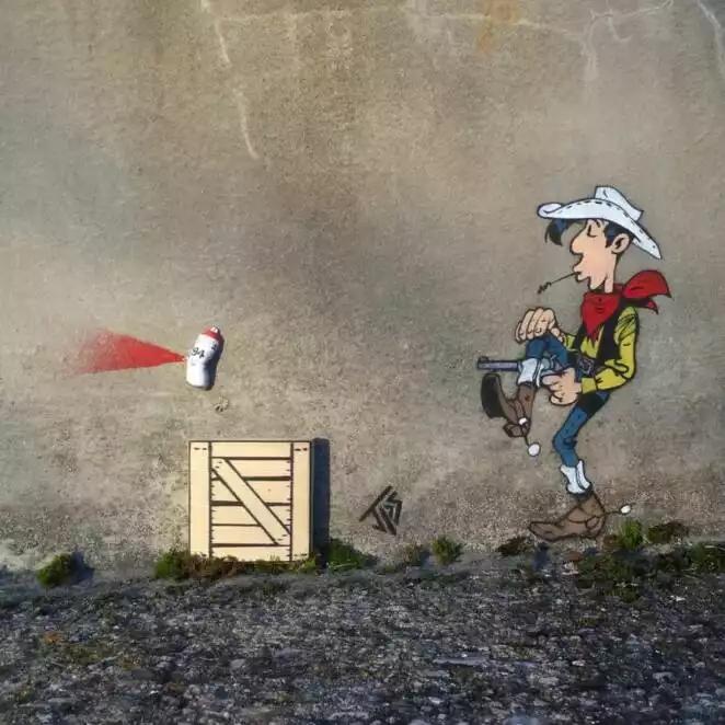 25 Ingenious Examples of Urban Graffiti
