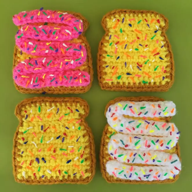 23 Amazing Crocheted Delicacies. They Will Not Add an Inch To Your Waistline