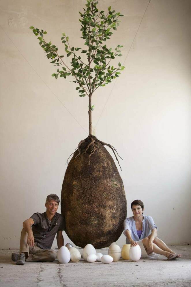 Capsula Mundi – an Ecological Approach To Burial. All of us Could Become a Tree