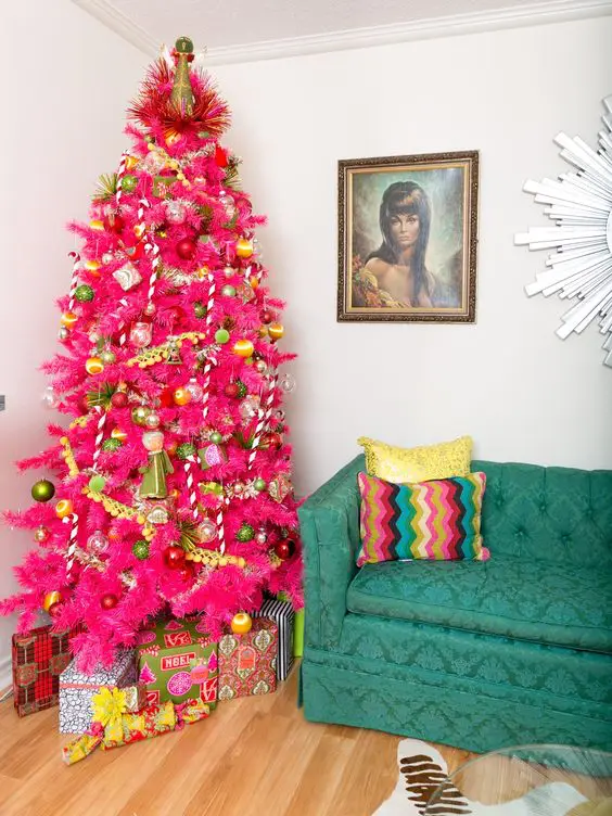 30 Of the Most Beautiful Christmas Trees, Which Captivate Us With Their Unique Beauty. Outstanding and Unusual!