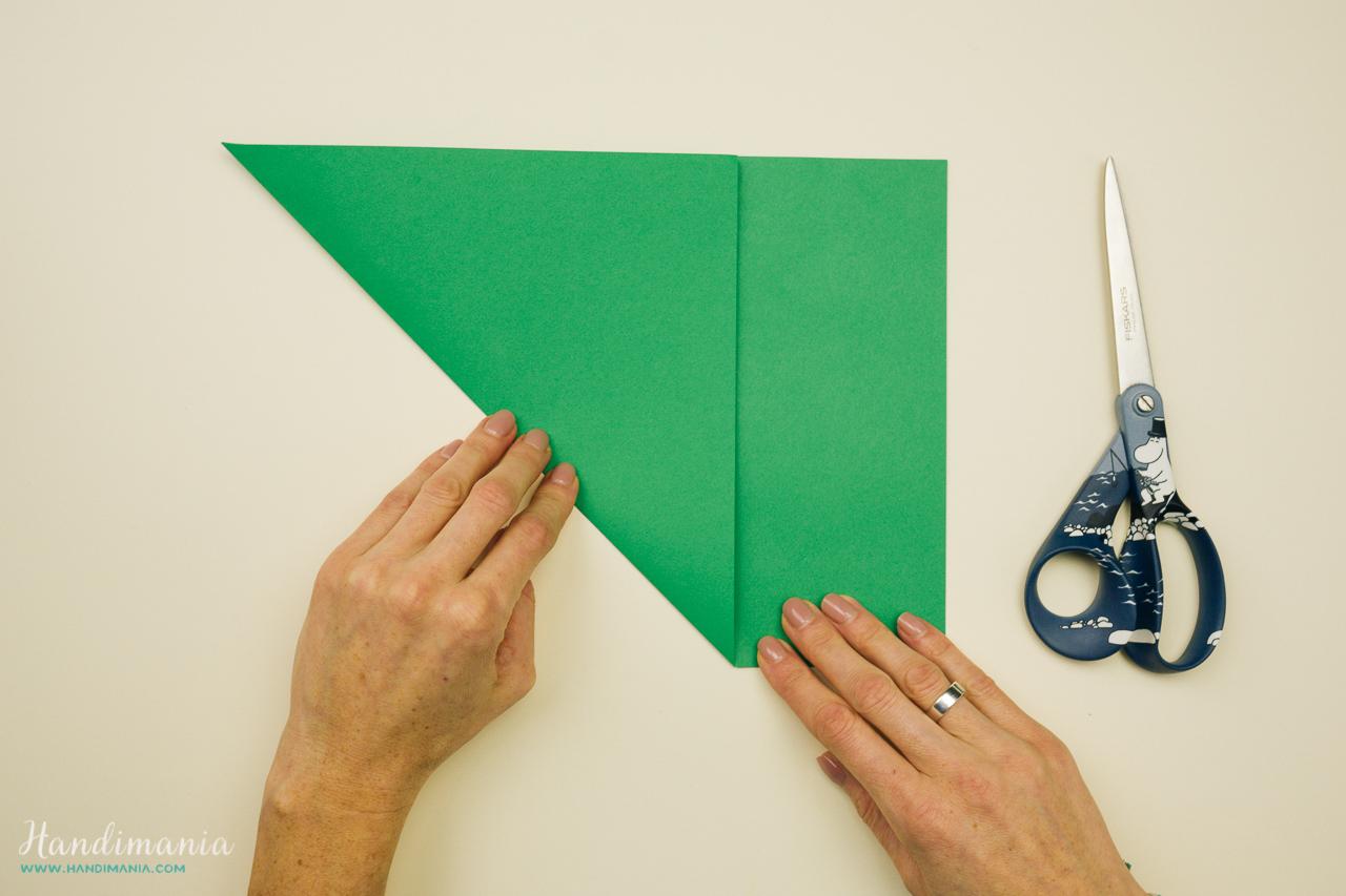 Christmas Craft DIY : How to Make 3D Paper Christmas Tree • K4 Craft | 853x1280