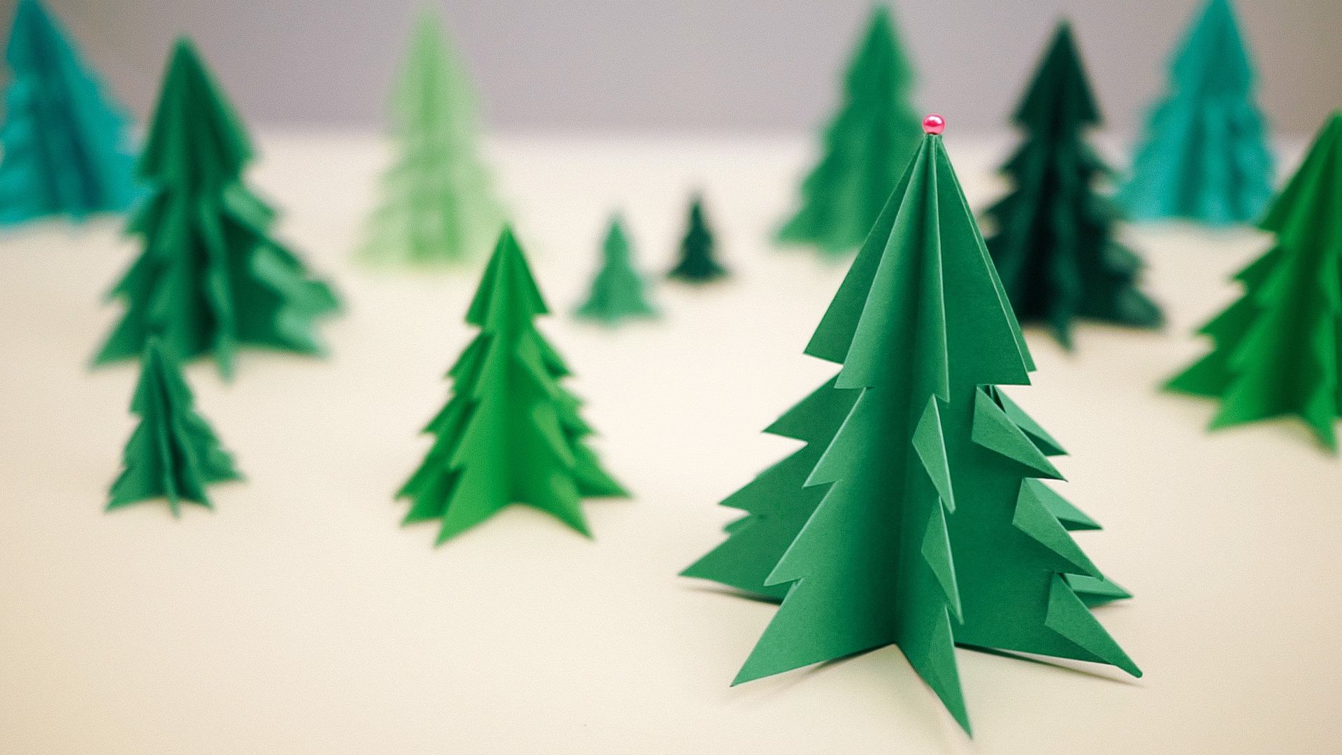 How to Make 3D Paper Christmas Tree - DIY & Crafts ...