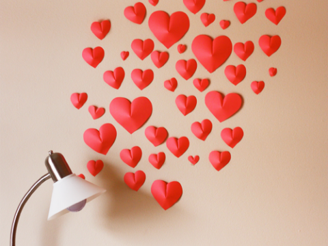 3d-paper-hearts