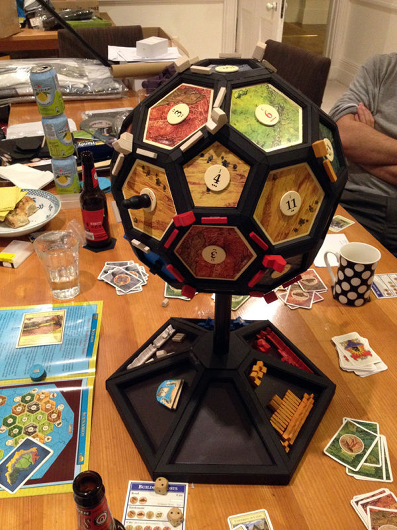 Paper stars how to make 5 pointed 3 d craft thyme - Make 3d How To Make 3d Settlers Of Catan Globe Diy Crafts Handimania