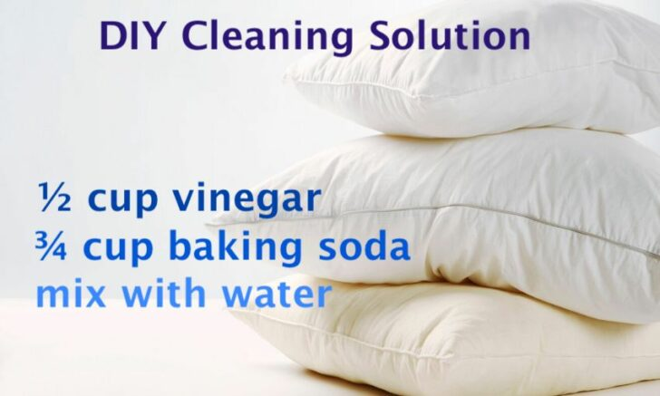 Easy Hacks to Home Wash and Whiten Your Yellowed, Stained Pillows