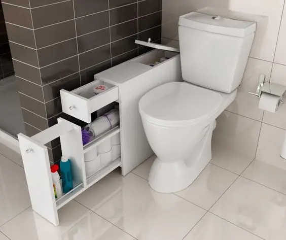 15 Clever Bathroom Hiding Places to Maximise Space and Tidy up Daily House Gadgets
