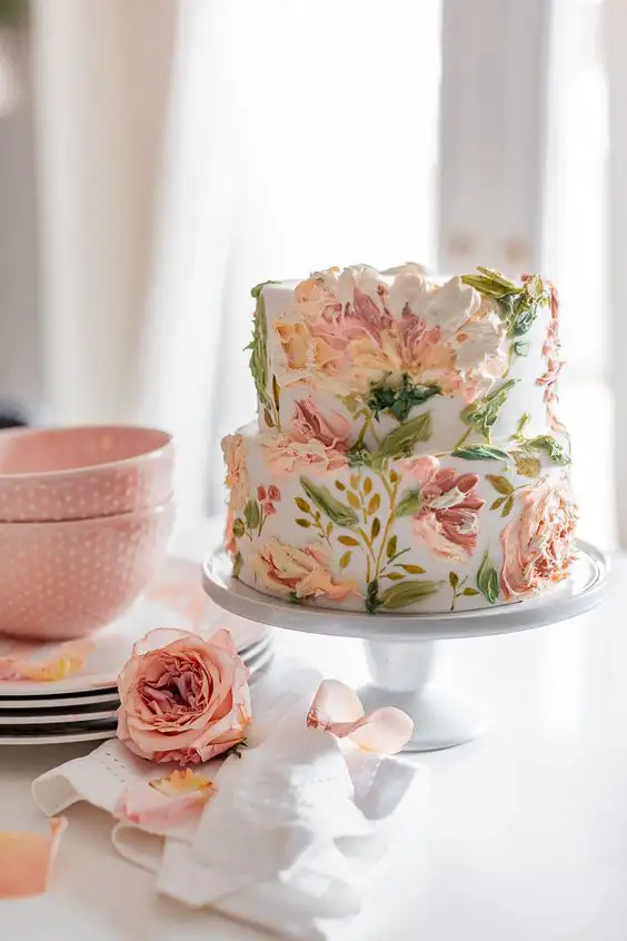29 Colorful Baked Goods with Spring Accents