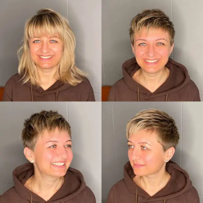 19 Bold Makeovers! Long Hair Chopped Off to Short. The Changes Are Beyond Recognition
