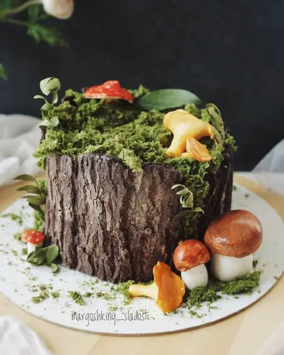 16 Delightful Cakes With a Forest Decoration That Every Nature Lover Will Love