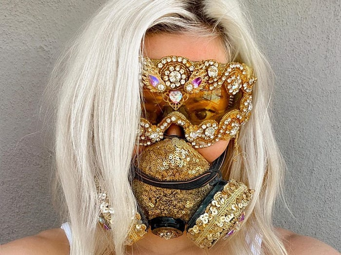 20 Best Unique Face Masks That are Guaranteed to Grab Attention! Face Coverings Will Have You Looking Fabulous.