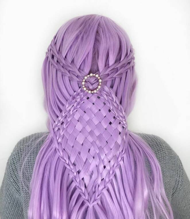17 Years Old  Self -Taught Teen Makes Unreal Hairstyles! Here are the Coolest 30 Patterns