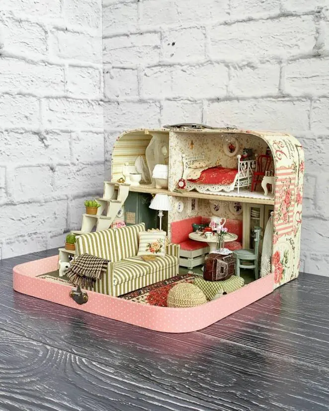 13 Dollhouses Full of Glamour & Stylish Details. They Are a Dream for Many Not Just Little Girls