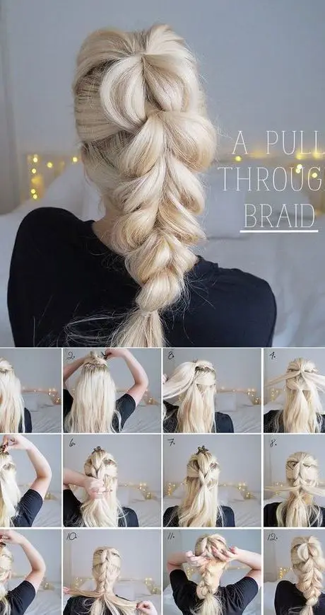 20 Great Ideas for Quick Hairstyles. Try For Yourself at Home Without Much Effort